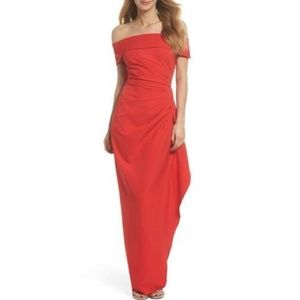 VINCE CAMUTO- Maxi Coral Evening Gown- Size 12